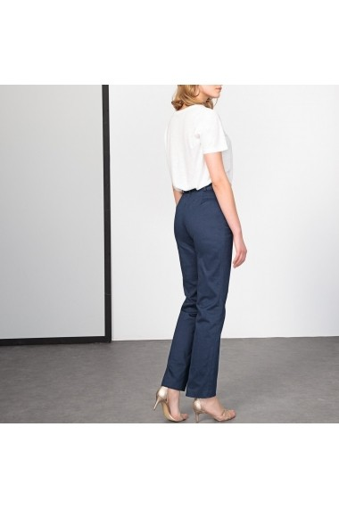 Pantaloni drepti ANNE WEYBURN GDE519 bleumarin