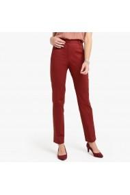 Pantaloni drepti ANNE WEYBURN GDE519 rosu