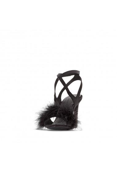 Sandale cu toc MADEMOISELLE R GEY996 negru