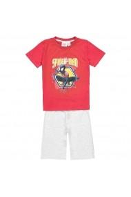 Pijama scurta SPIDER-MAN GGB272 rosu