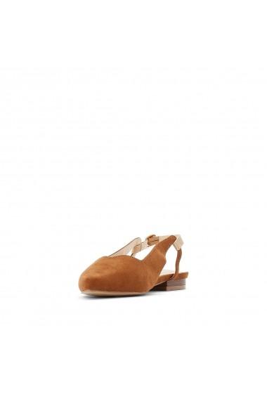 Sandale plate CASTALUNA GFZ288 maro