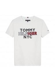 Tricou TOMMY HILFIGER GIB599 alb
