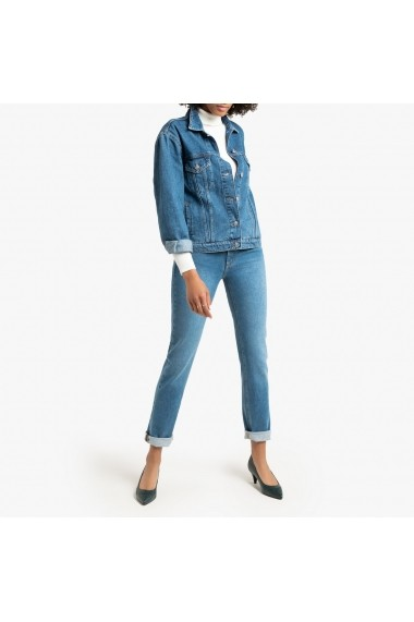 Jacheta din denim La Redoute Collections GGP860 albastru
