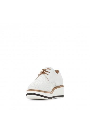 Pantofi La Redoute Collections GFZ192 alb