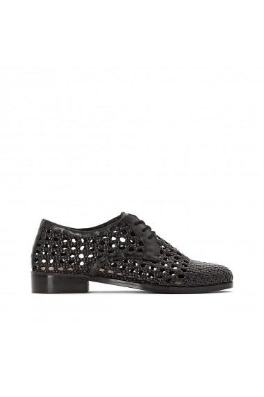 Pantofi La Redoute Collections GFZ226 negru