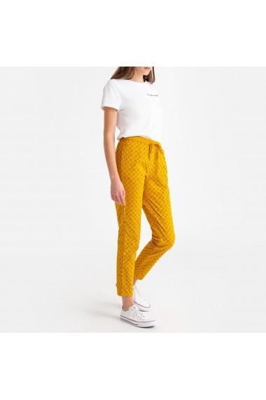 Pantaloni sport La Redoute Collections GFR805 portocaliu