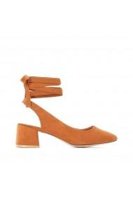 Pantofi cu toc La Redoute Collections GFY992 maro