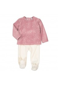 Pijama La Redoute Collections GHP117 alb
