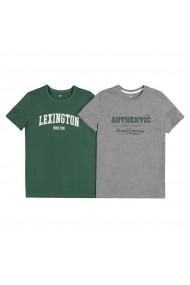 Set 2 tricouri La Redoute Collections GGF801 verde