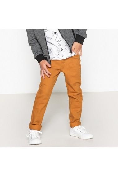 Pantaloni La Redoute Collections GDJ999 mustar