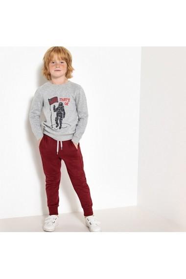 Pantaloni sport La Redoute Collections GET205-burgundy_red Bordo