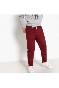 Pantaloni sport La Redoute Collections GET205 bordo
