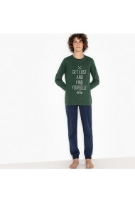 Pijama La Redoute Collections GET504-dark_green Verde