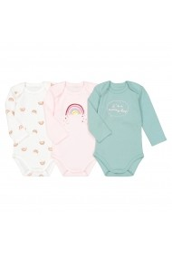 Set 3 body-uri La Redoute Collections GGD020 multicolor
