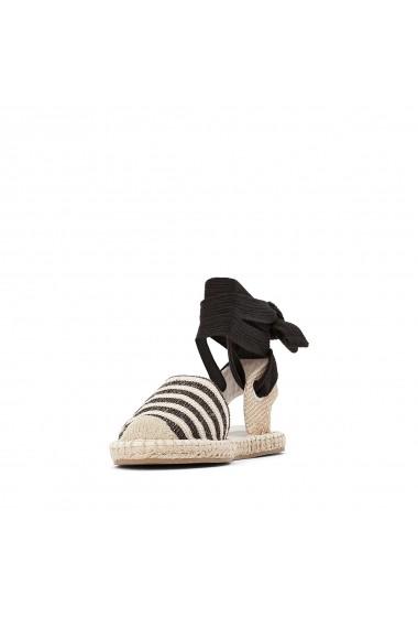 Sandale La Redoute Collections GGC405 negru