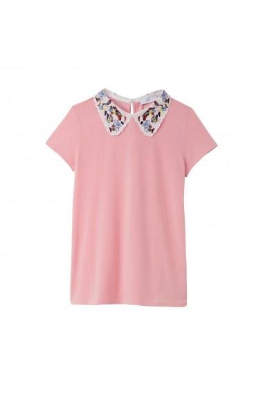 Tricou La Redoute Collections GFB953-pink Roz