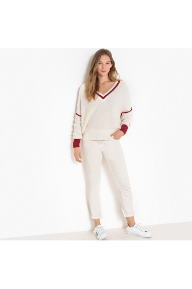 Pulover La Redoute Collections GFA866 alb