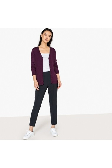 Cardigan La Redoute Collections GEV482-purple Violet