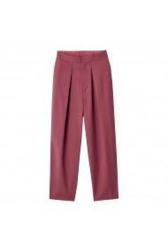 Pantaloni slim fit La Redoute Collections GHX948 bordo