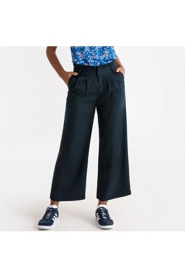 Pantaloni largi La Redoute Collections GFR799 bleumarin