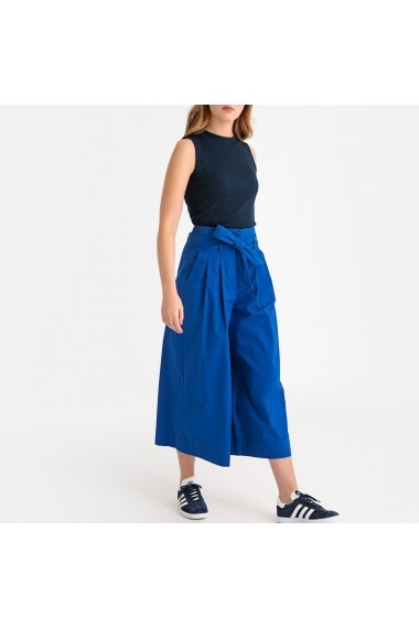 Pantaloni largi La Redoute Collections GFX496 albastru