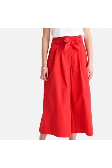 Pantaloni trei sferturi La Redoute Collections GFX496 rosu