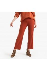 Pantaloni largi La Redoute Collections GGM082 caramiziu