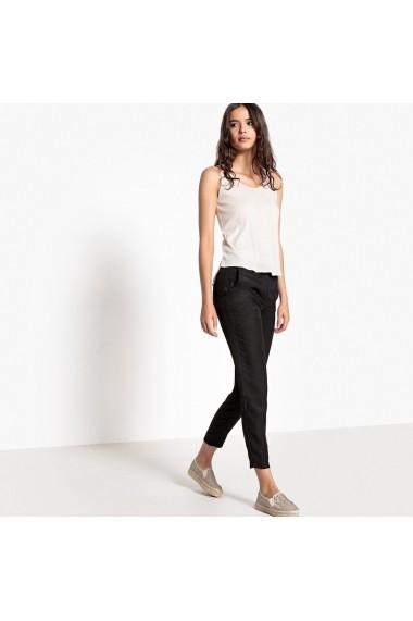 Pantaloni La Redoute Collections GEL855-black Negru