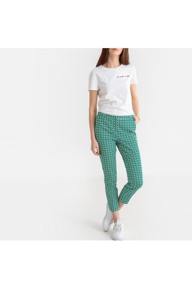 Pantaloni trei sferturi La Redoute Collections GFX021 verde