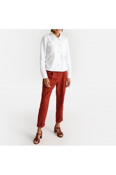 Pantaloni drepti La Redoute Collections GFX505 maro