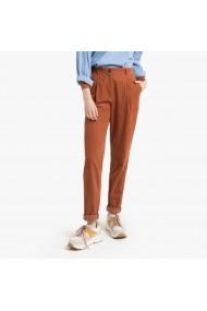Pantaloni drepti La Redoute Collections GGP609 maro