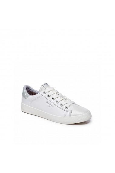 Pantofi sport PEPE JEANS GGM298 alb