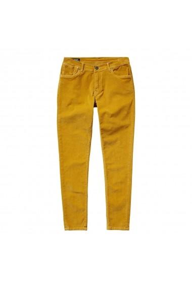 Pantaloni PEPE JEANS GFO242 galben