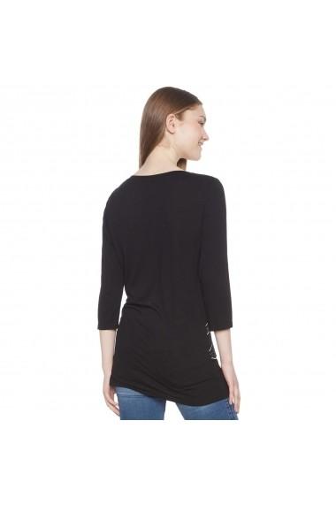 Bluza DESIGUAL GFH682-black with print Negru