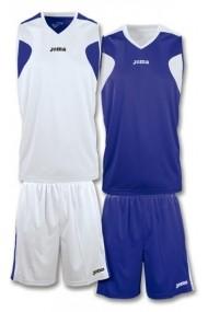 Costum sport de baschet JOMA 1184.008 Alb