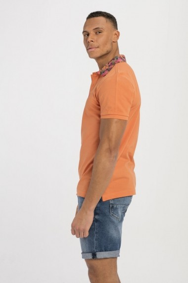 Tricou Polo Jimmy Sanders MAS-18S PLM1028 ORANGE Portocaliu