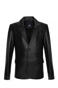 Jacheta din piele Paul Parker MAS-Pa6801353-BLACK Negru