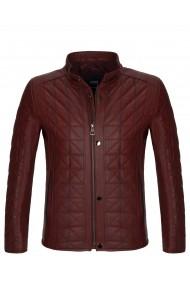 Jacheta din piele Paul Parker MAS-PA7081181-DARK RED Rosu - els