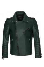 Jacheta din piele Paul Parker PA534043 Verde