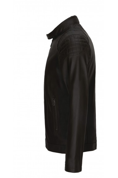 Jacheta din piele Paul Parker Pa9556987 Kaki