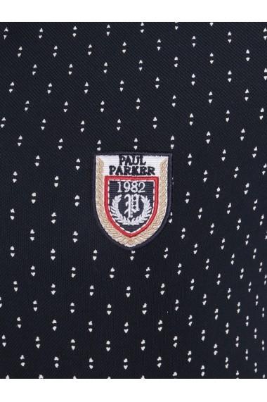 Tricou Polo Paul Parker MAS-Pa1131251-NAVY Bleumarin