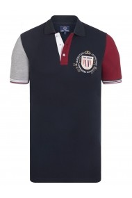 Tricou Polo Paul Parker MAS-Pa6014783-NAVY Bleumarin