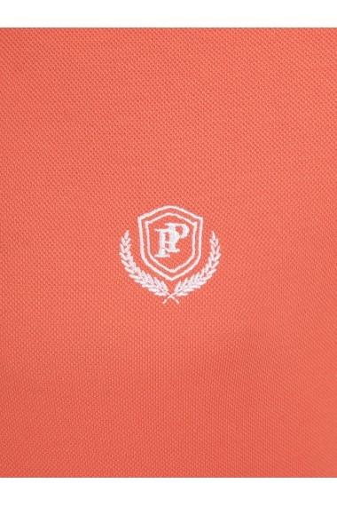 Tricou Polo Paul Parker MAS-Pa6154972-ORANGE Portocaliu