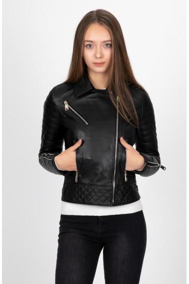 Jacheta din piele Paul Parker PA209101 Neagra