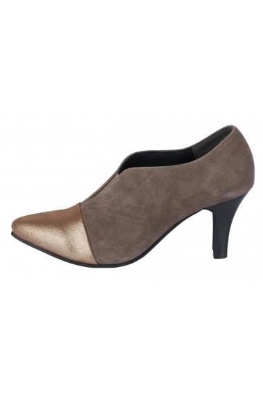 Pantofi cu toc Andrea Conti 53315227 gri-bej