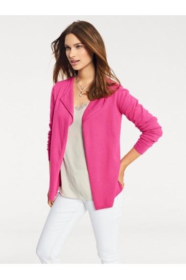 Cardigan heine CASUAL 021558 roz - els