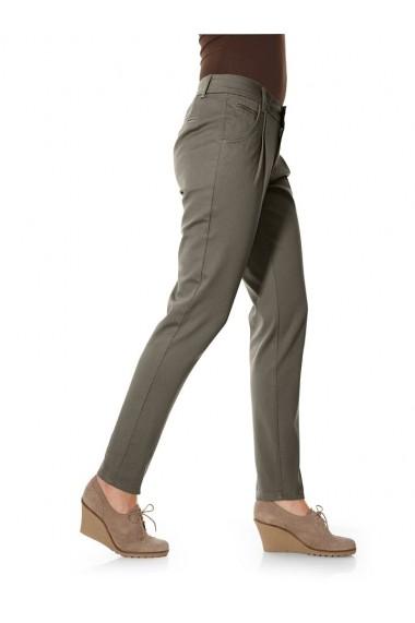 Pantaloni mignona 085735 heine CASUAL olive