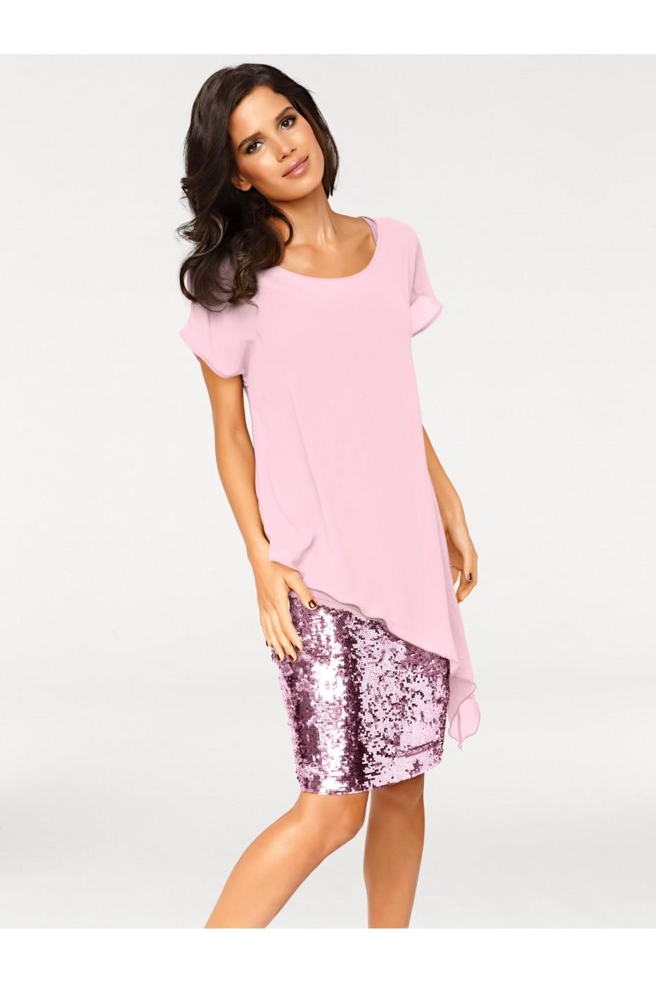 8d99d07815 Estélyi ruha heine TIMELESS 87209 Rózsaszín - els - FashionUP!