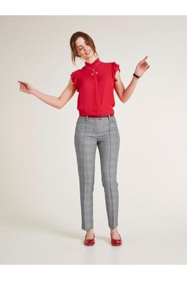 Pantaloni drepti heine TIMELESS 75077526 negru
