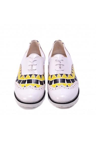 Pantofi Oxford Goby GNG301 Multicolor